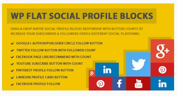 Best Social Media follow buttons: WP Social Media Plugin