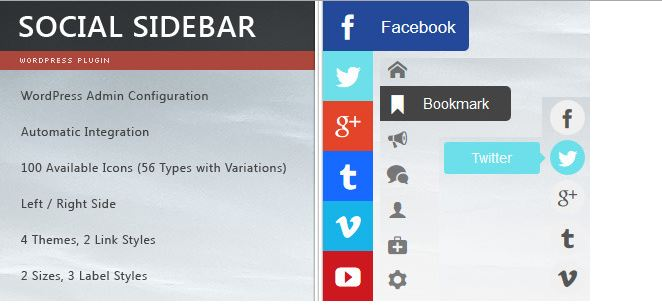 Best Social Media Follow Buttons for your blog