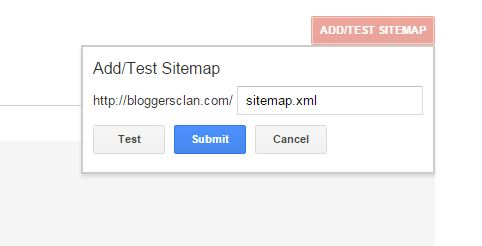 How to submit sitemap for your blog